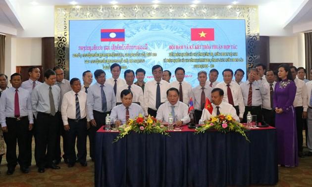 Hợp tác phát triển giữa ba tỉnh: Quảng Trị (Việt Nam) và Savannakhet, Salavan (Lào)