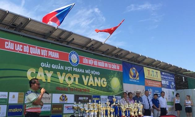 Giải Cây vợt vàng Praha 2019 kết nối cộng đồng người Việt tại châu Âu