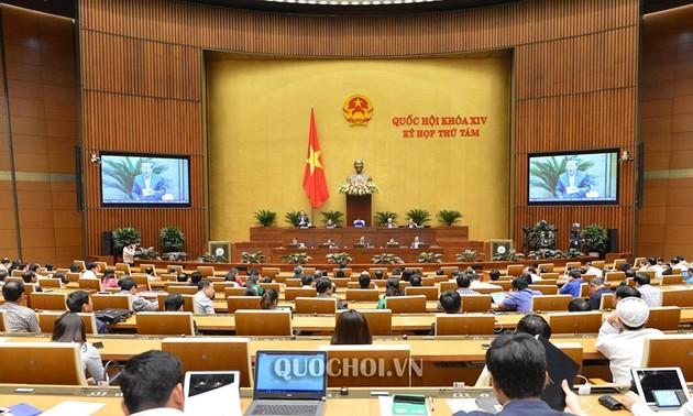 Quốc hội bước sang tuần làm việc thứ 3