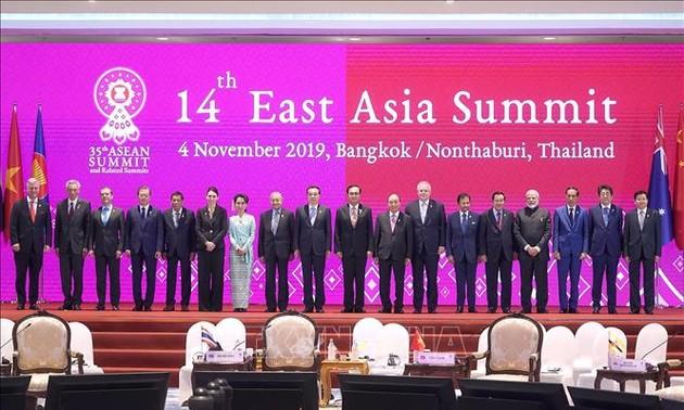Thủ tướng Nguyễn Xuân Phúc dự Phiên toàn thể Hội nghị Cấp cao Đông Á lần thứ 14