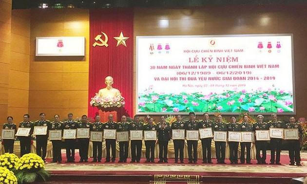 Bế mạc Đại hội Thi đua yêu nước Hội Cựu chiến binh Việt Nam giai đoạn 2014-2019