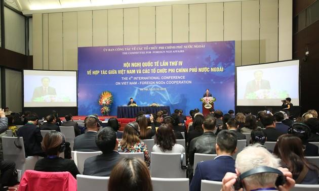Khai mạc Hội nghị Quốc tế lần thứ 4 về hợp tác giữa Việt Nam và các tổ chức phi chính phủ nước ngoài
