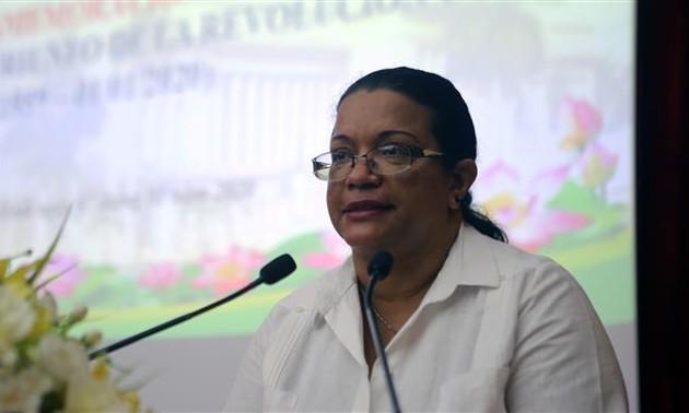 Họp mặt kỷ niệm 61 năm Quốc khánh Cộng hòa Cuba