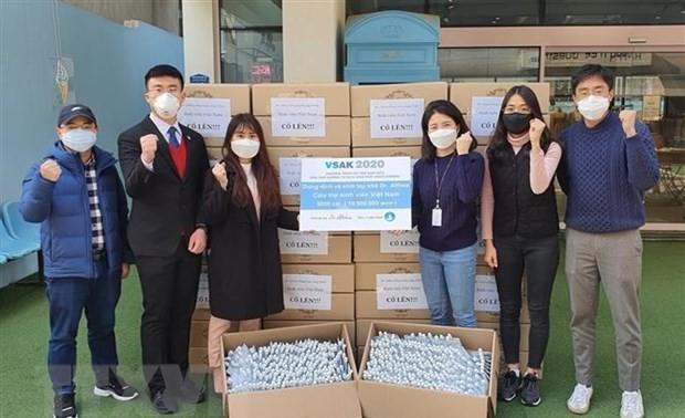 Cộng đồng người Việt Nam ở nước ngoài chung tay phòng, chống dịch COVID-19