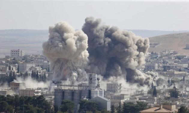 Боевики ИГ возобновили нападение на сирийский город Кобани