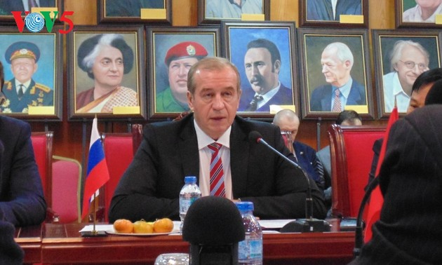 Левченко: не только Иркутская область, но и вся Россия испытывает большой интерес к Вьетнаму