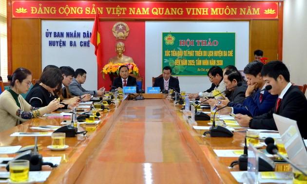 В Куангнине выдвинули инициативу по формированию тура на основе легенды про Бога воды