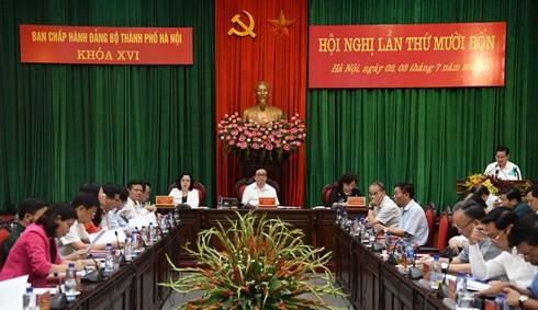 Секретарь парткома Ханоя: Необходимо продолжать повышать ответственность за строительство столицы