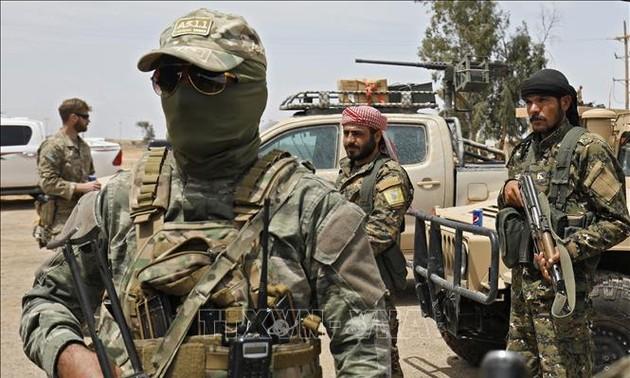 Курды потеряли десятки бойцов и районы на юго-востоке Сирии