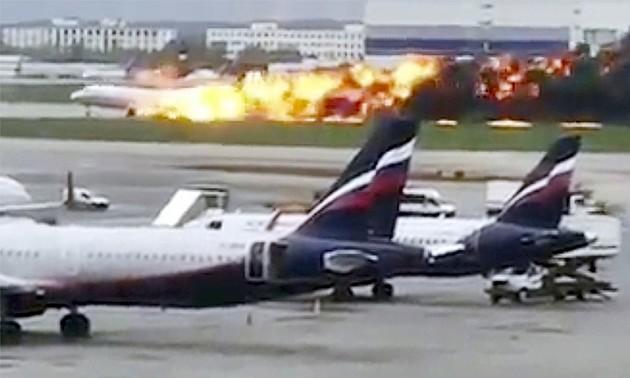 Пожар в самолёте при посадке в Шереметьево унёс жизни 41 человека