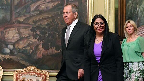 Лавров: Россия всегда будет солидарна с Венесуэлой