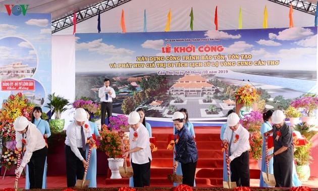 Нгуен Тхи Ким Нган приняла участие в церемонии начала реставрации исторического памятника «Ловонгкунг»