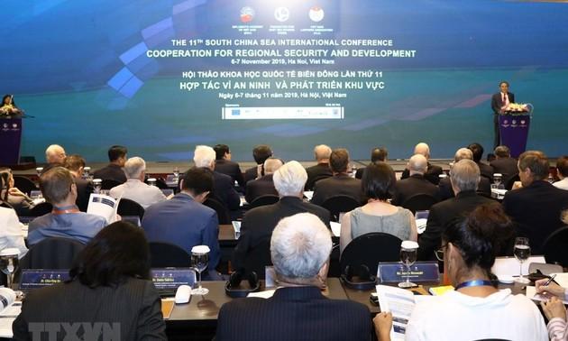 Все государства должны уважать международное право, сохранять мир и порядок в Восточном море