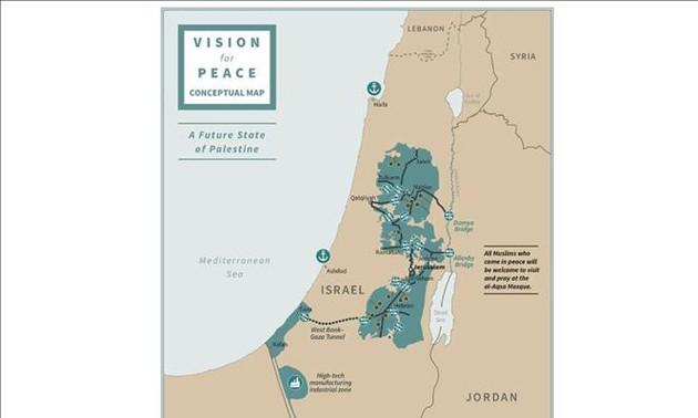 Реакция стран на план мирного урегулирования на Ближнем Востоке, предложенный Трампом