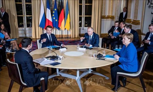 «Нормандская четверка» договорилась попытаться согласовать вызывающие споры вопросы до конца сентября