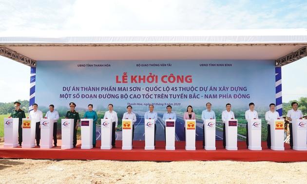 Во Вьетнаме одновременно стартовала реализация трёх проектов в рамках скоростной автомагистрали Север-Юг