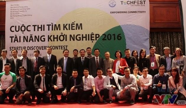 Clôture de la fête des startups et de l'innovation- Vietnam Techfest 2016
