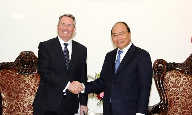 Le Vietnam favorise les actitivés des entreprises britanniques