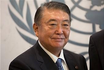 Nguyen Phu Trong reçoit Tadamori Oshima