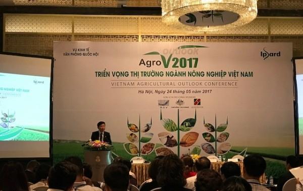 Les perspectives de l'agriculture vietnamienne en 2017