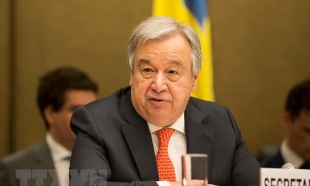 Antonio Guterres exprime l'espoir que les conflits commerciaux se régleront par la négociation