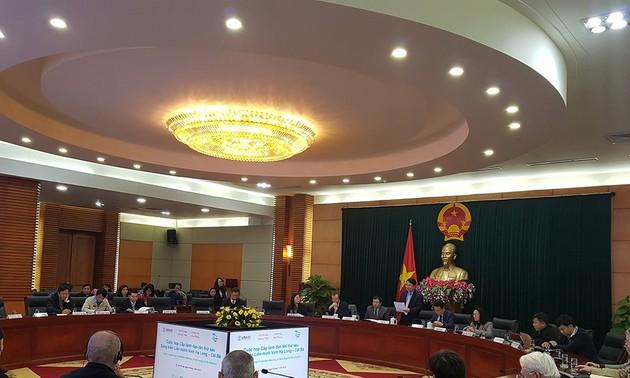 6e réunion de l'Initiative de l'alliance Halong-Cat ba