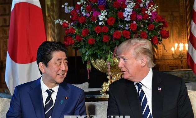 Entretien téléphonique entre Trump et Abe au sujet du sommet de Hanoi