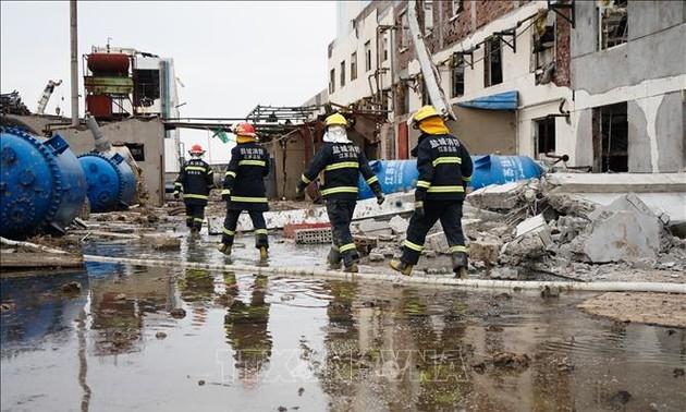 Chine : quatre morts et 35 blessés dans l'explosion d'une usine chimique en Mongolie intérieure