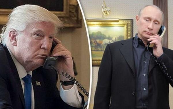 Appel téléphonique d'une heure entre Trump et Poutine
