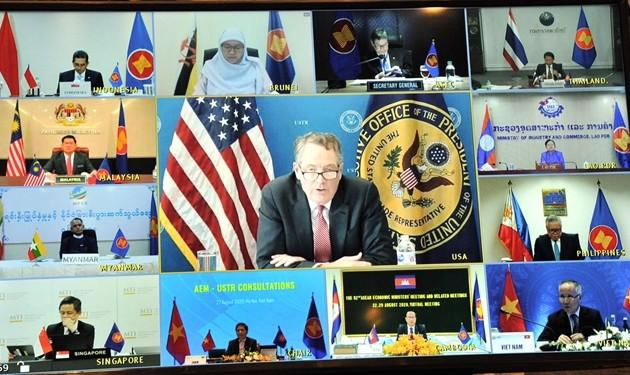 L'ASEAN et les États-Unis continuent de favoriser les liens économiques