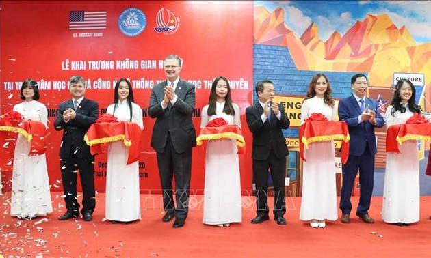Un premier centre culturel américain à Thai Nguyên
