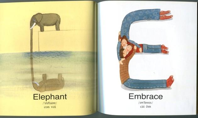 Những chữ cái kỳ diệu - thế giới từ vựng đầy màu sắc tặng bé