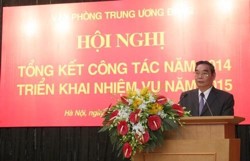 Văn phòng Trung ương Đảng CSVN triển khai công tác năm 2015