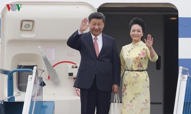 Chuyến thăm thúc đẩy quan hệ  đối tác hợp tác chiến lược toàn diện Việt Nam- Trung Quốc