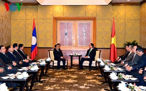 Lãnh đạo Nhà nước, Chính phủ Việt Nam tiếp Thủ tướng Lào Thongsing Thammavong