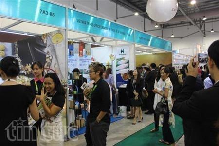 Doanh nghiệp Việt Nam xúc tiến quảng bá tại hội chợ thực phẩm lớn nhất châu Á