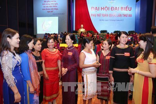 Khai mạc Đại hội đại biểu Phụ nữ toàn quốc lần thứ 12