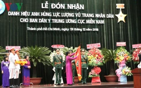 Chủ tịch Quốc hội trao danh hiệu Anh hùng LLVTND cho Ban Dân Y Trung ương cục miền Nam