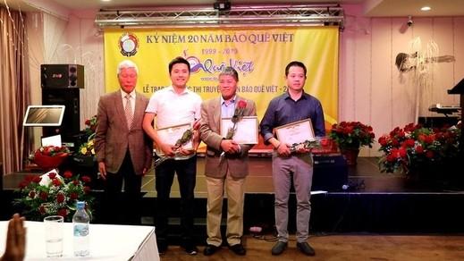 Kỷ niệm 20 năm báo Quê Việt và Lễ trao giải cuộc thi truyện ngắn báo Quê Việt-2019