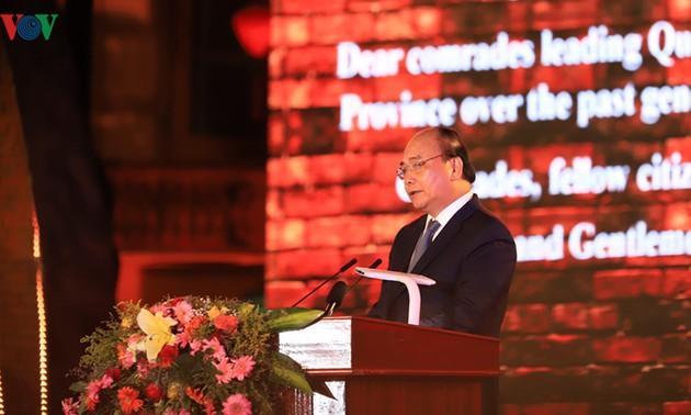Thủ tướng Nguyễn Xuân Phúc dự kỷ niệm 20 năm  Hội An, Mỹ Sơn được công nhận Di sản văn hóa thế giới