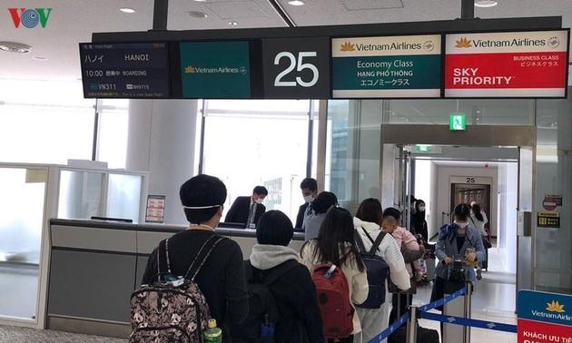 Đưa hơn 300 công dân Việt Nam từ Nhật Bản về nước