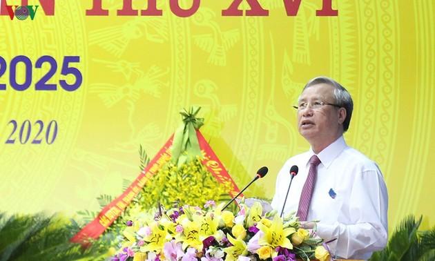 Thường trực Ban Bí thư Trần Quốc Vượng dự Đại hội điểm huyện Văn Yên, tỉnh Yên Bái