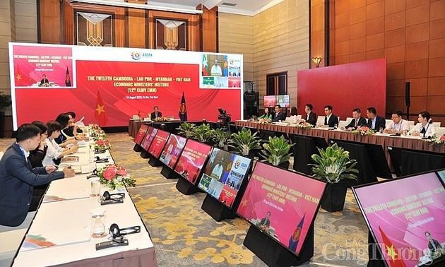 Hội nghị Bộ trưởng Kinh tế các nước Campuchia-Lào-Myanma-Việt Nam lần thứ 12