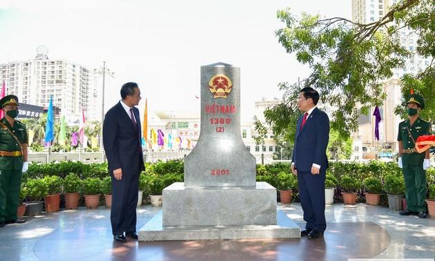 20 năm hợp tác biên giới đất liền Việt – Trung
