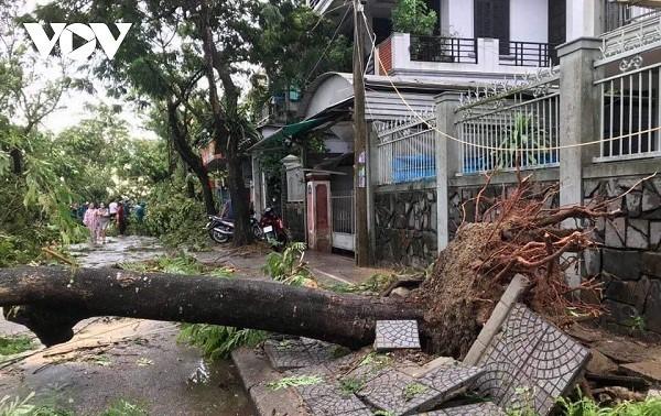 Bão Noul suy yếu thành áp thấp nhiệt đới sau khi gây thiệt hại về người khi đổ bộ vào Việt Nam