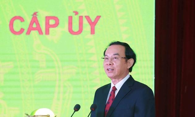 Ông Nguyễn Văn Nên được bầu giữ chức Bí thư Thành ủy Thành phố Hồ Chí Minh
