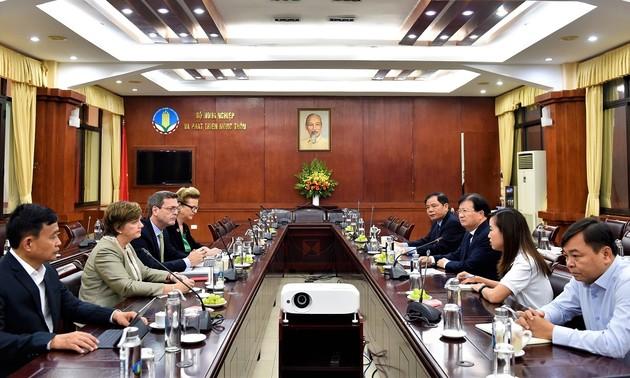 Các tổ chức quốc tế chung tay khắc phục thiệt hại do thiên tai gây ra tại miền Trung