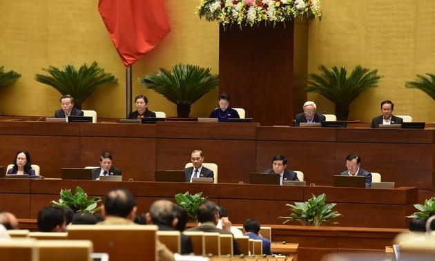 Quốc hội kết thúc phiên thảo luận về kinh tế - xã hội