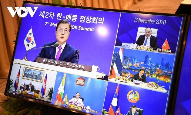 Hội nghị cấp cao Mekong-Hàn Quốc lần thứ 2 thúc đẩy triển khai Tuyên bố Mekong-Sông Hàn