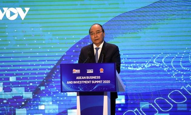 Thượng đỉnh Kinh doanh và đầu tư ASEAN 2020: chung tay xây dựng một khu vực ASEAN phát triển và thịnh vượng